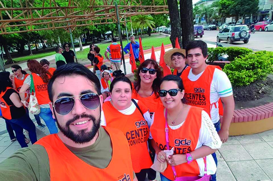 hoy desde Plaza Sán Martín a Casa de Gobierno